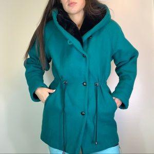 Vintage Wool Teal Jacket